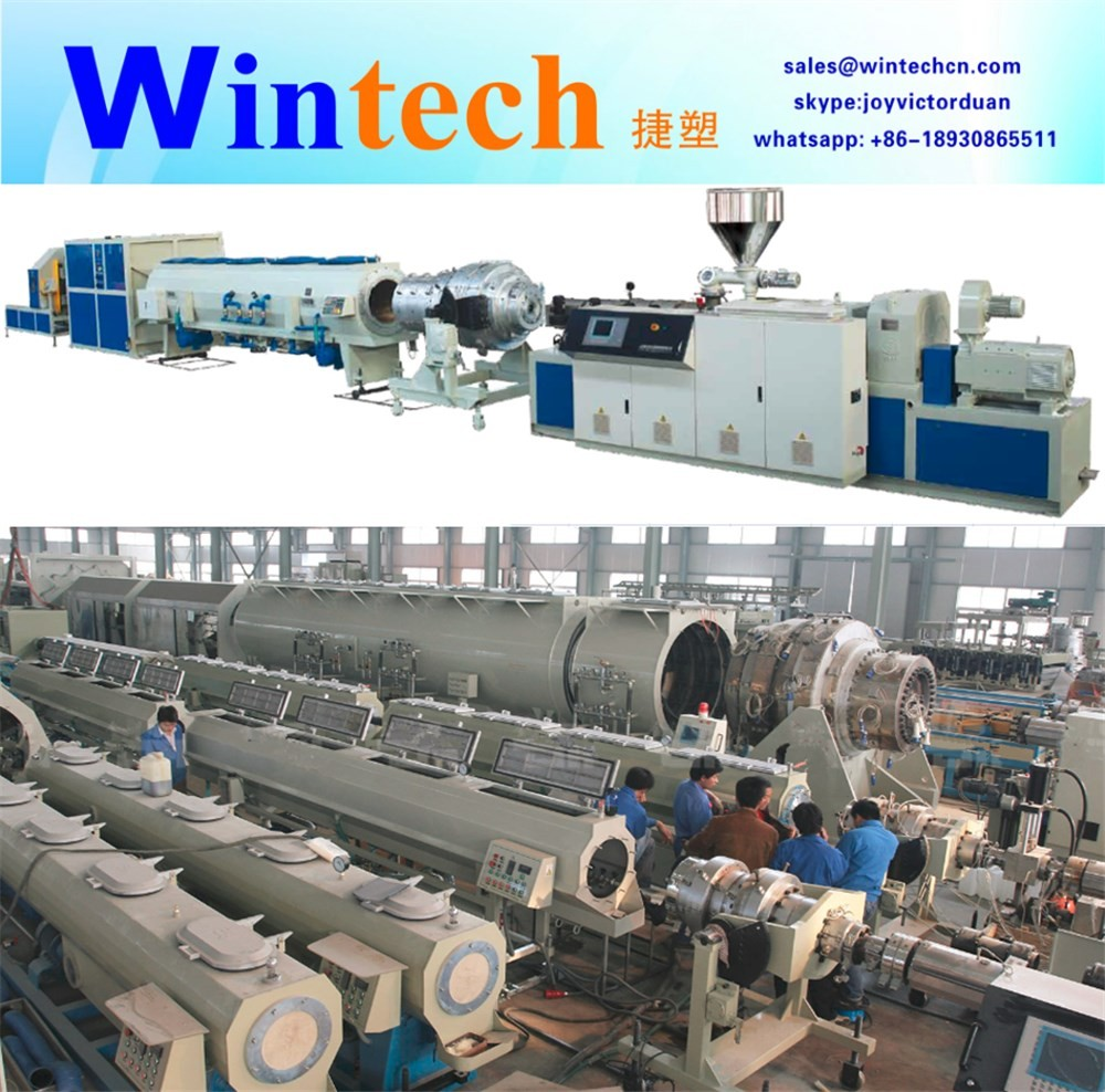 50-250mm PVC pipe extrusion production making manufacturing machine pvc pipe extruder machine with price for sale made in China