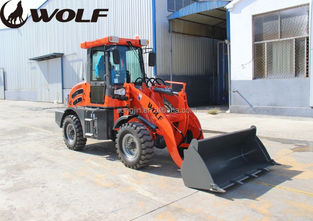Chinese small steer loader machines for snow removal