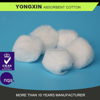 Non-sterile absorbent cotton wool balls 0.5g for meical use