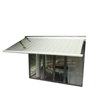 Motorized semi-cassette Cassette Retractable House Awning