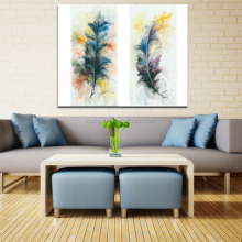 Modern Frameless Creative Leather Canvas Art Prints Oil Painting