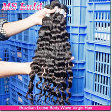 comfortable soft hair factory price with custom human hair beyonce weaving