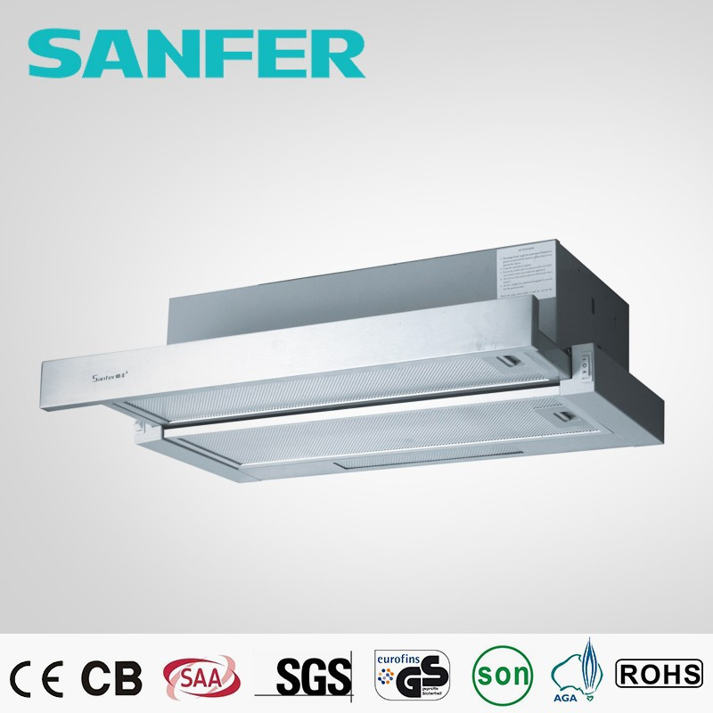300-390 hr air flow under cabinet free standing range hood /cook hood