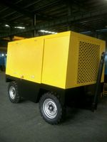 Diesel Engine Portable Screw Air Compressor For Drill Rig