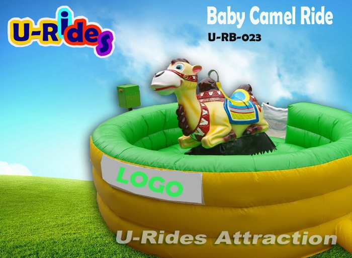 Inflatable Mechanical Camel Rodeo Ride Simulator Rides for Amusement park