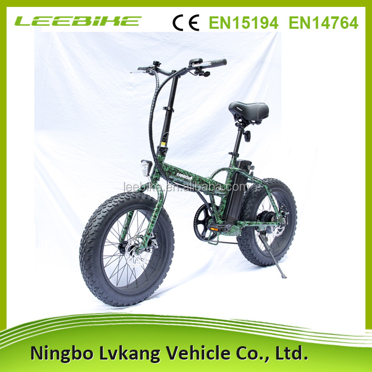 20inch foldable design new product fat electric bike
