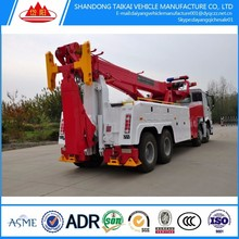 Rotator Wrecker 40 ton Heavy Duty Rotator Tow Truck Heavy Recovery Trucks Truck Bed Side