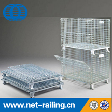 Steel large size storage rigid heavy duty security wire mesh cages