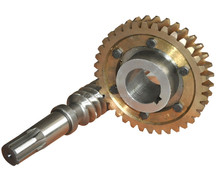 Nonstandard small worm gears customized made CNC high pw precision high quality worm gear motor