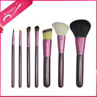 Premium Quality Private Logo 7pcs Makeup Brushes Cosmetic Set with Barrel