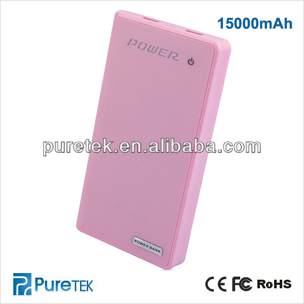 Portable power source with USB port for smartphone,Portable Power bank Charger for gift