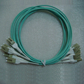 Low Price LC to LC Uniboot OM3 3.0mm Fiber Optic Patch Cord