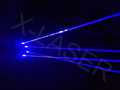 Blue magic bar laser gloves for laser dancing with multi color choice