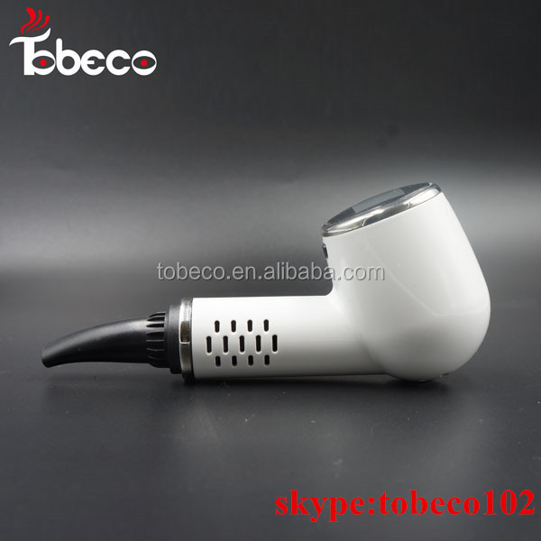 electric tobacco pipe vaporizer e pipe dry herb vaporizer