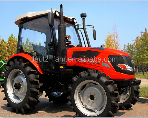 70hp 4WD tractor with cabin
