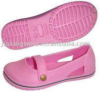 2014 Hot selling ECO material girls eva garden shoes FACTORY DIRECT SALE