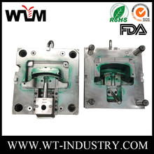 OEM molded plastic components abs plastic injection mold company,flower pot abs plastic mold maker