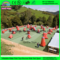 High Auality Mobile Outdoor Inflatable Paintball Bunkers PVC Bunker Paintball For Sale