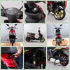 new products 2016 electric scooter/cheap chinese motorcycles/ New pedal assist electric scooter