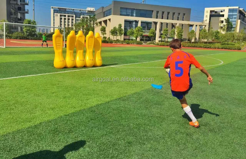 Factory directly inflatable football dummy soccer mannequin for training