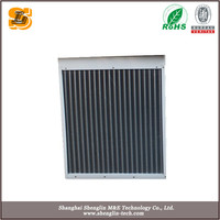 Water epoxy coating aluminum fin steam condenser