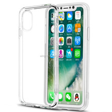 Wholesale for iphone X plus transparent cover,clear gel case for iphone X