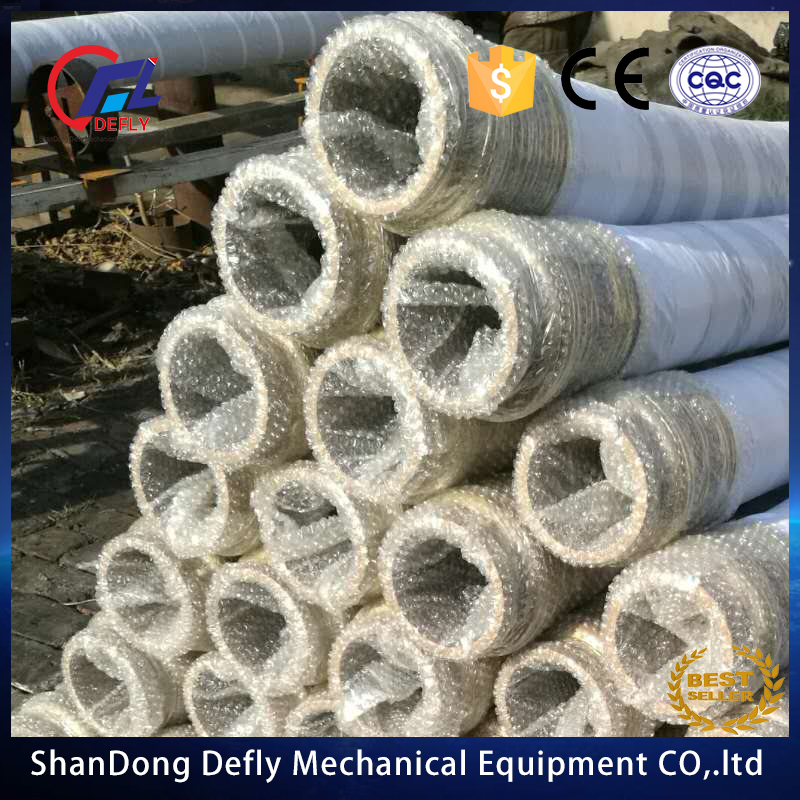 China dn804 layer of steel-rubber hose delivery pouring concrete pump for manufactor