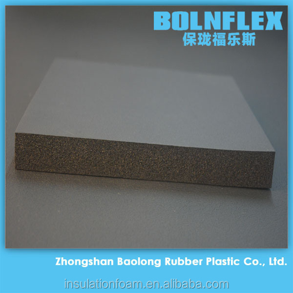 Factory Sell Fireproof Material Heat Insulation Anti Sound Rubber Foam Acoustic Insulation
