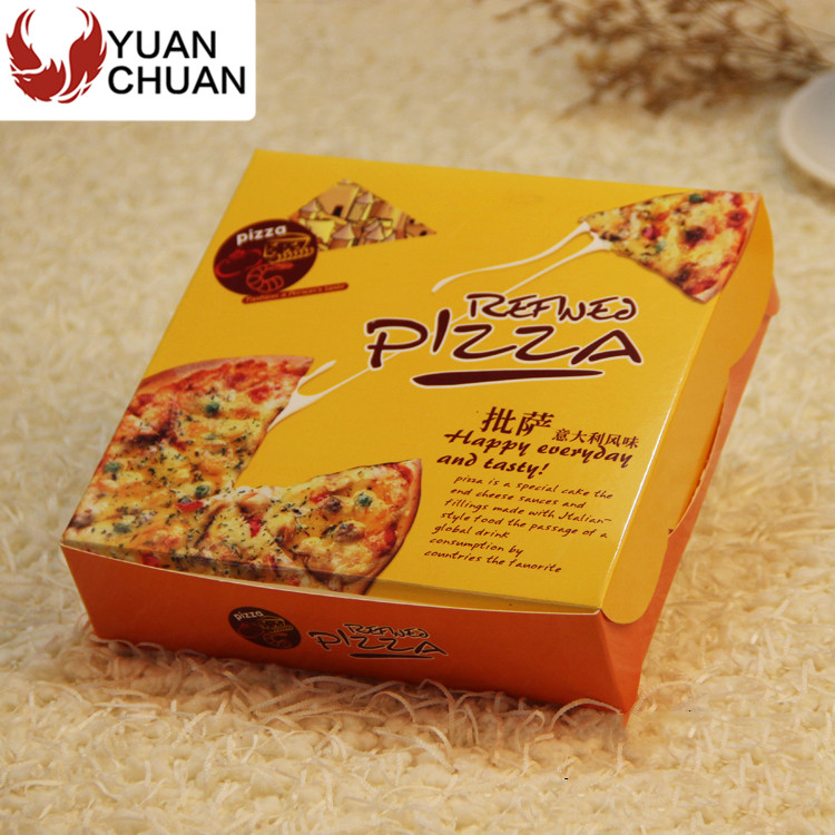 Italain style restaurant packing box for pizza