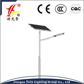 High efficiency new design100W outdoor solar LED street lighting