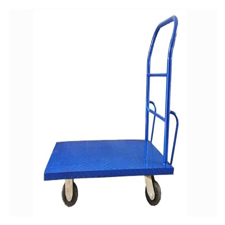 "6"" Pu Folding Heavy Duty Steel Platform Hand Truck"