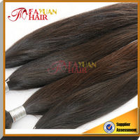 hot selling top qulity silky Premium Natural Human Hair With Tangle Free
