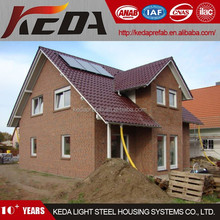China Guangzhou Factory Made Prefabricated Villa House / Prefab Home