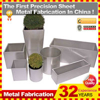 custom indoor metal flower pot wholesale made in China with different size