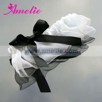 Solf Black Lace Wedding Garter A130351-WS