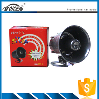 120db output high power electric auto siren black CY20-7