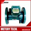 Inline sea water flow control meter