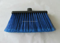 HQ0575R Chinese factory wholesale big sweep easy broom with long wooden stick