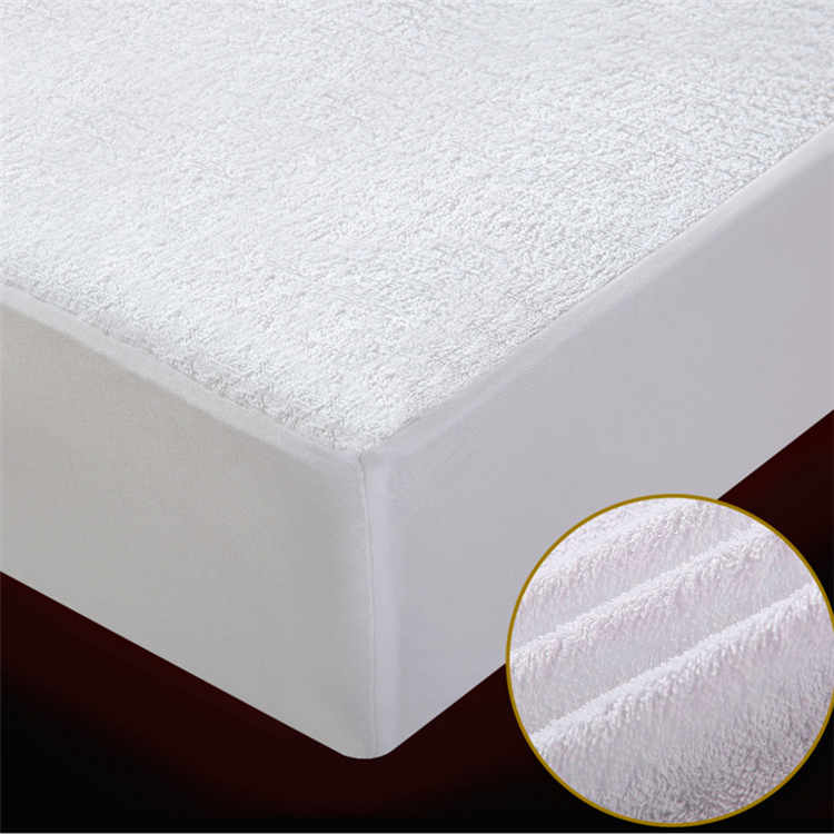 Waterproofed Mattress Cover Ultimate Stains & Spills Protection White - Jozy Mattress | Jozy.net