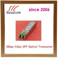 3Gbps Video SFP fiber optic module with 1310nm DFB laser