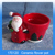 Wholesale ceramic christmas decor flower pot with santa claus figurine