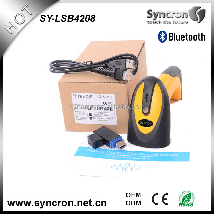Cost-effective best sell bluetooth barcode scanners android