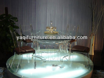 Crystal Banquet Table