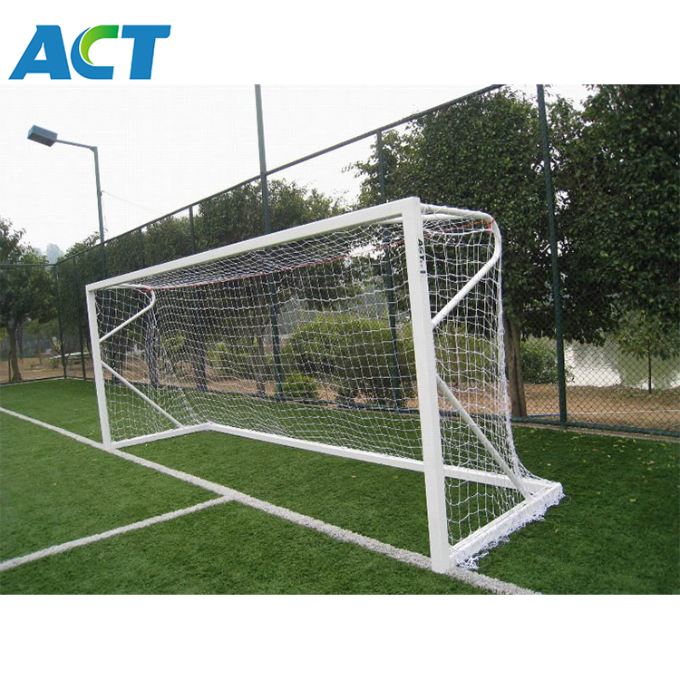 Quality soccer equipment 2 x 3m portable steel Handball goal post