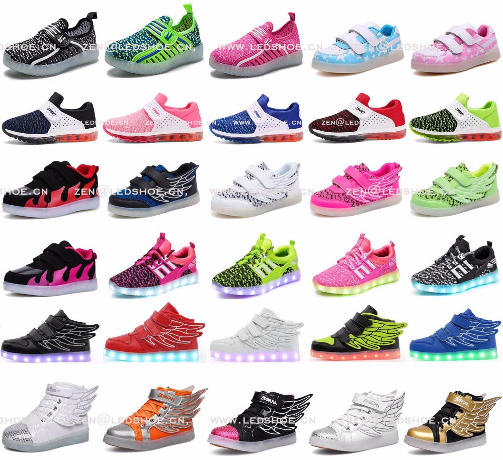FAST shipping high quality hot sales bulk led shoes wholesale