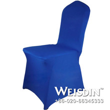 arm made in China spandex/nylon square back lycra wedding chair covers