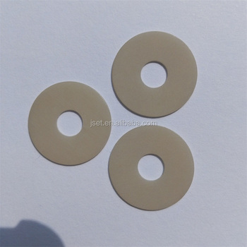 High thermal conductivity aluminum nitride ceramic plate