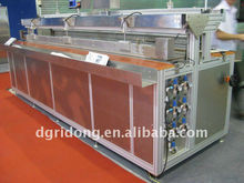 DZBH chinese automatic multi-function platform machine for window shade textile fabric thermal welding better than laser