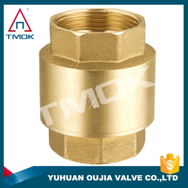 for air compressor for refrigerantion parts brass check valve with ppr pipe 1 2 inch brass check valve yuhuan
