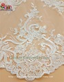guangzhou supplier african lace fabrics tulle embroidery lace for evening dress